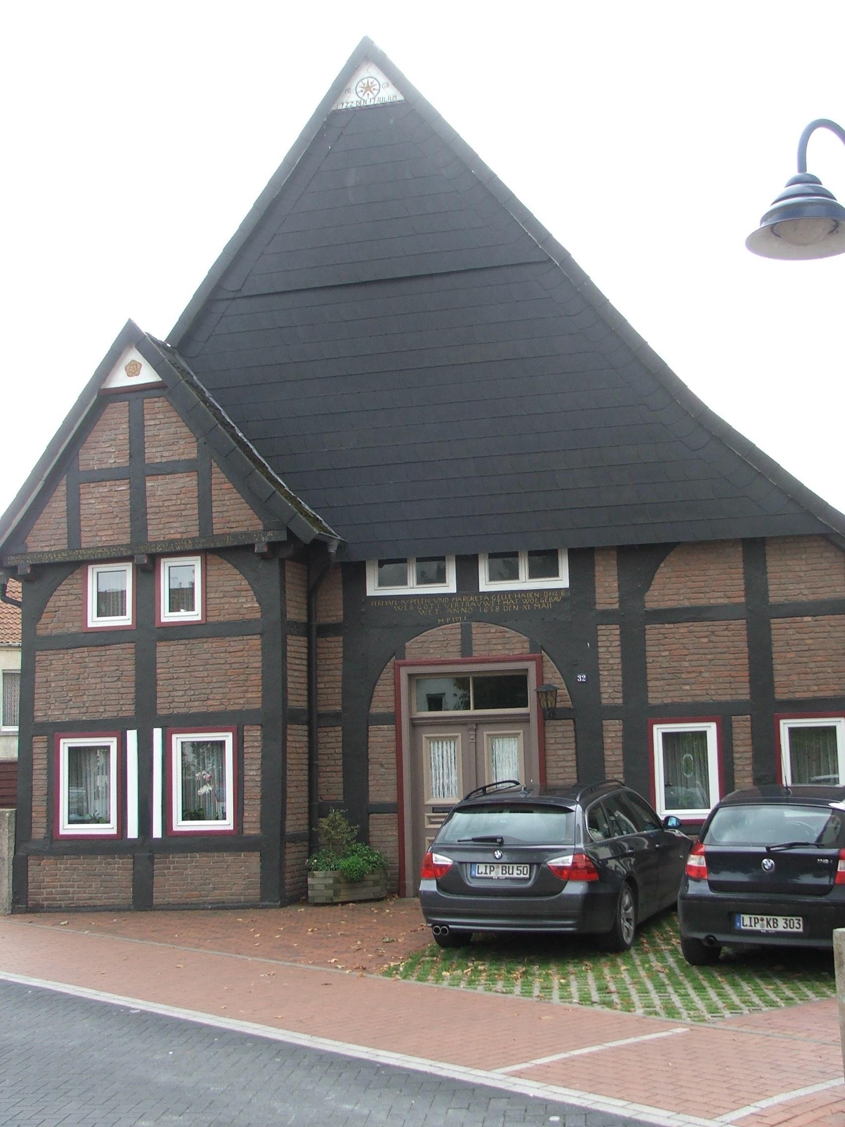 Fachwerkhaus Rhienstraße 32