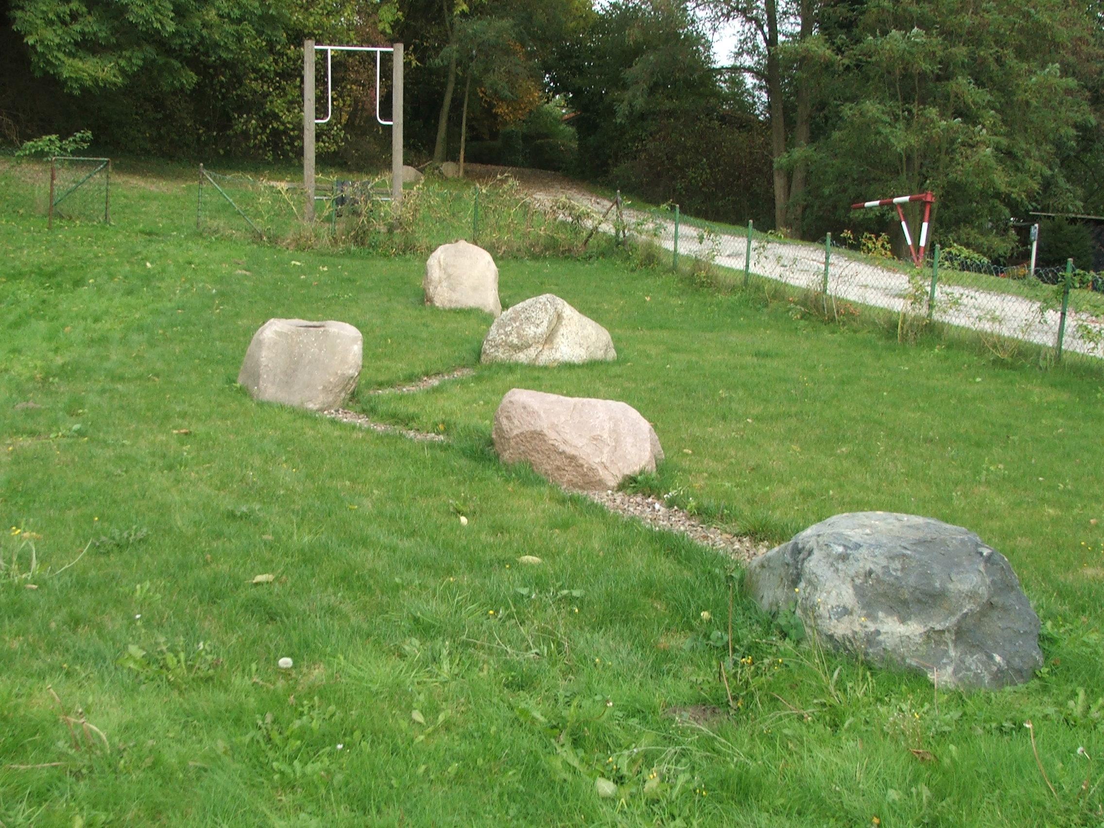 Germanische Steinanlage