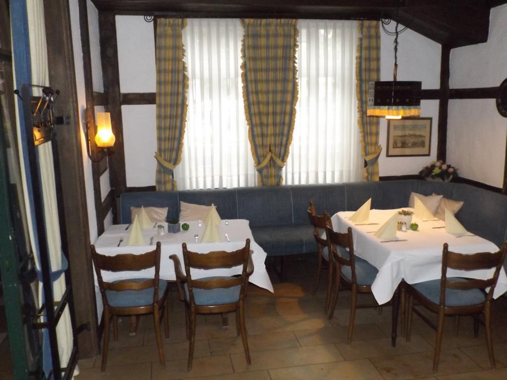 Gaststube, Altes Gasthaus Fischer-Eymann in Bad Iburg,