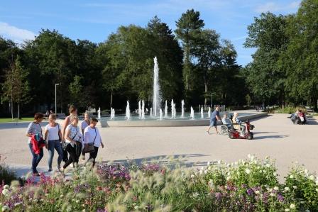 Kaiser-Karls-Park im Gartenschau-Gelände Bad Lippspringe