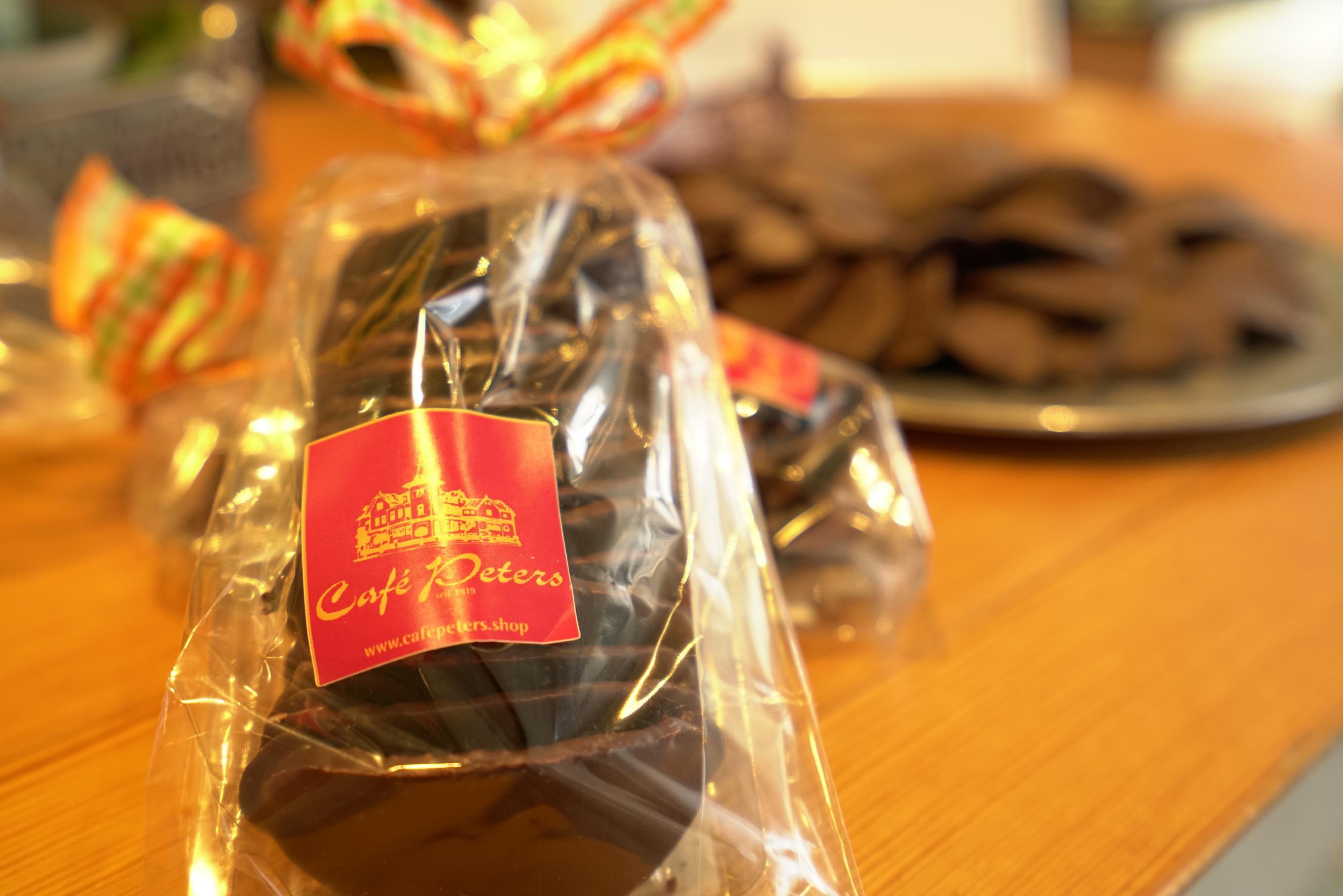 Café Peters - verpackte Sponblätter