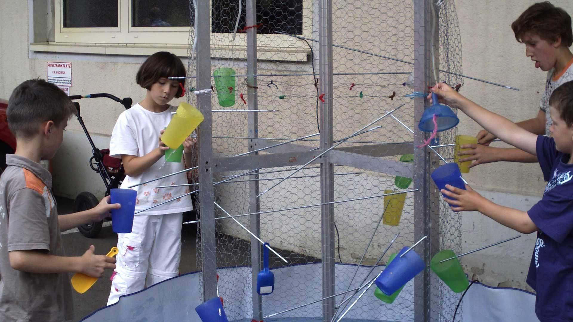 Experimentieren im Kindermuseum