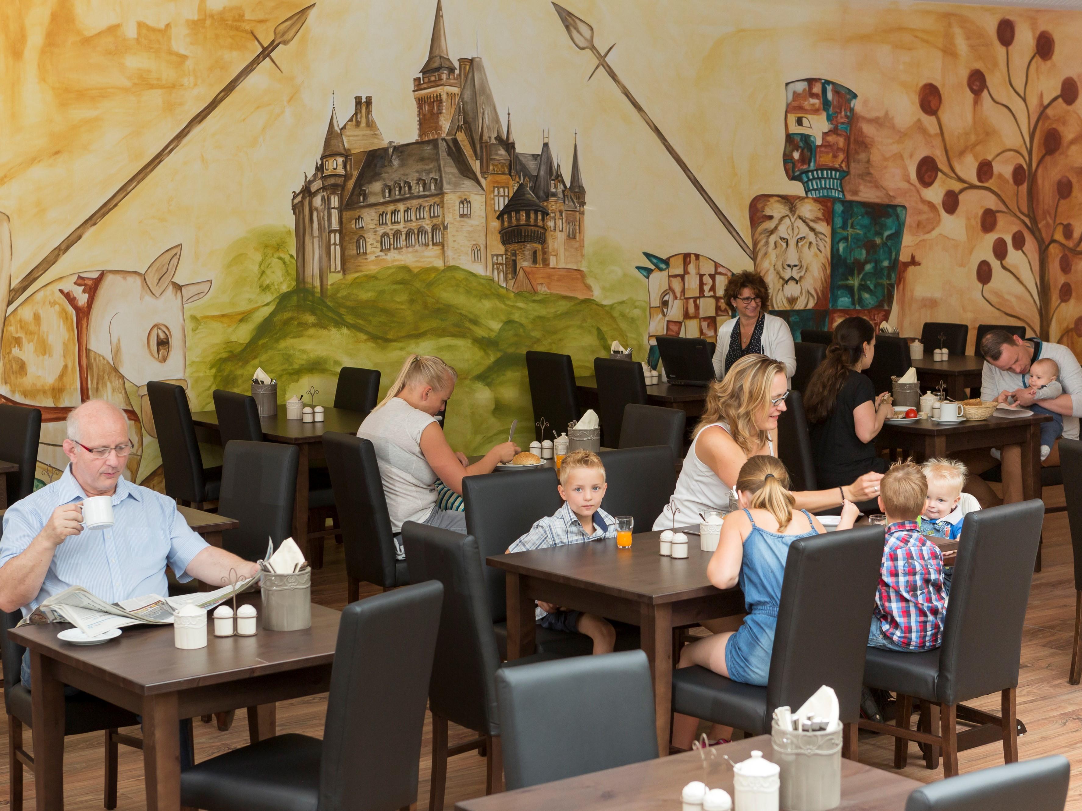 Hasseröder Burghotel in Wernigerode - Restaurant
