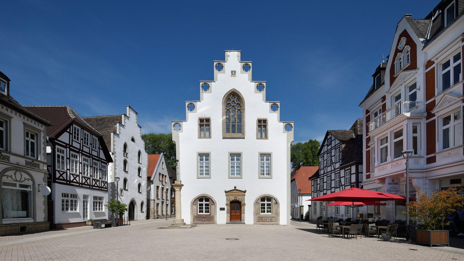 Rathaus der Stadt Brakel