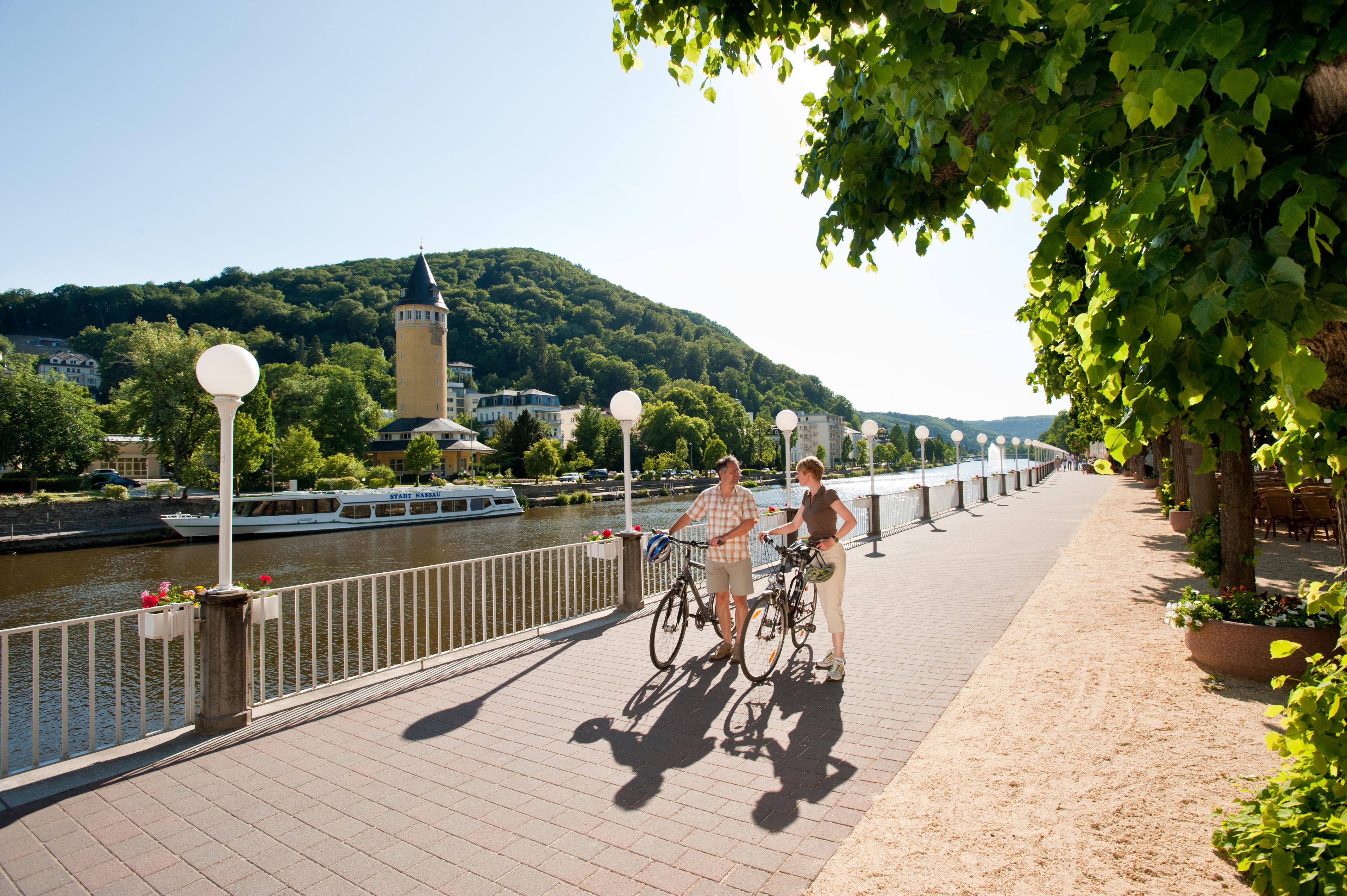 Lahnradweg in Bad Ems