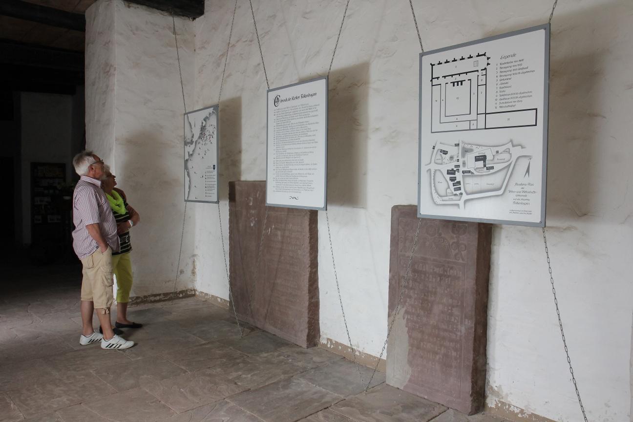 Ausstellung zur Klostergeschichte in der Klosterkirche