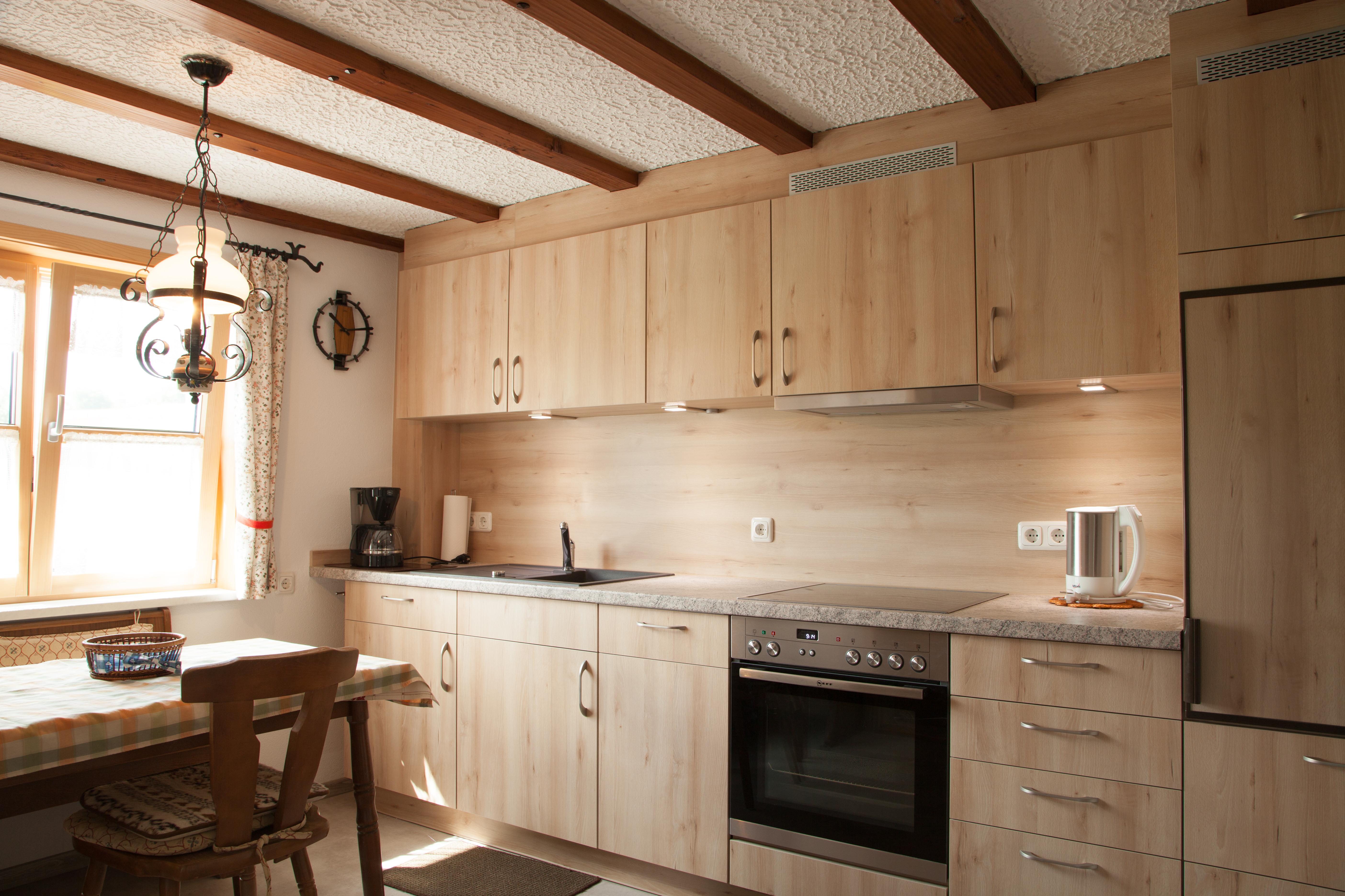 Ferienhof Henn, Küche
