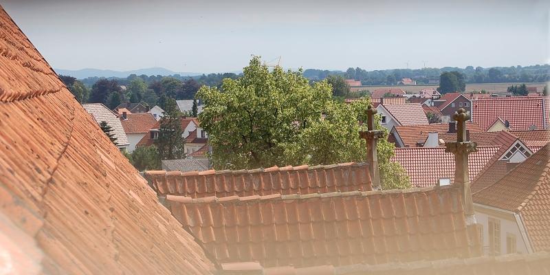 Blick vom Kirchturm