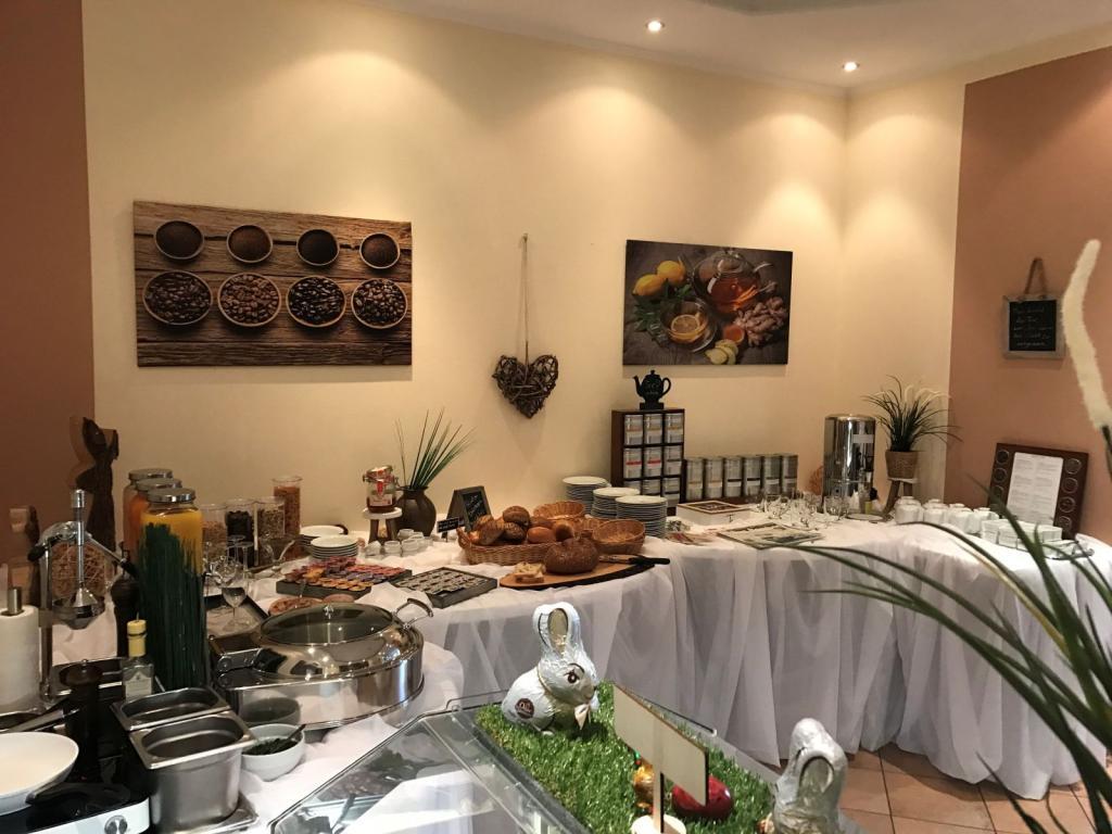 Frühstücksbüffet im Hotel Riesenbeck