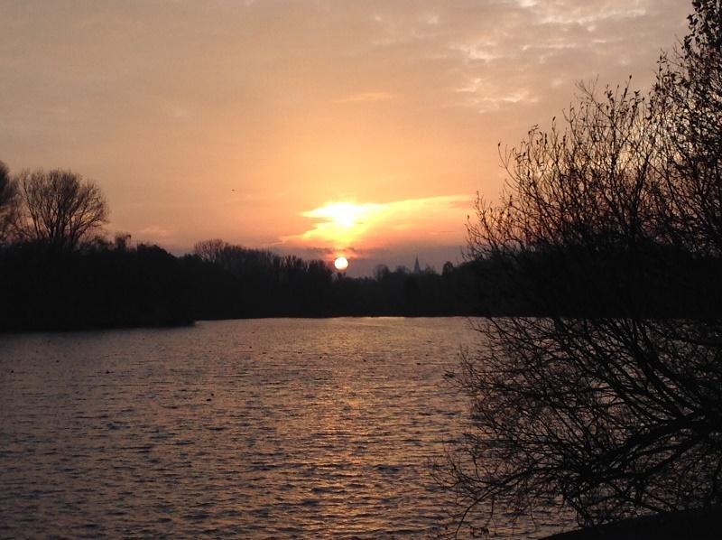 Morgendämmerung am Padersee