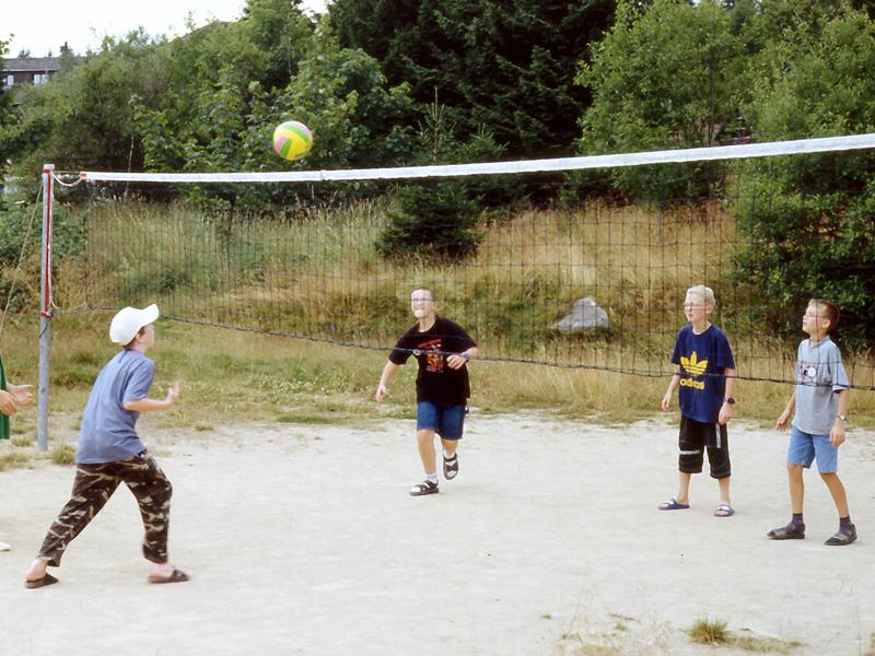 Jugendherberge Torfhaus - Ballspiel