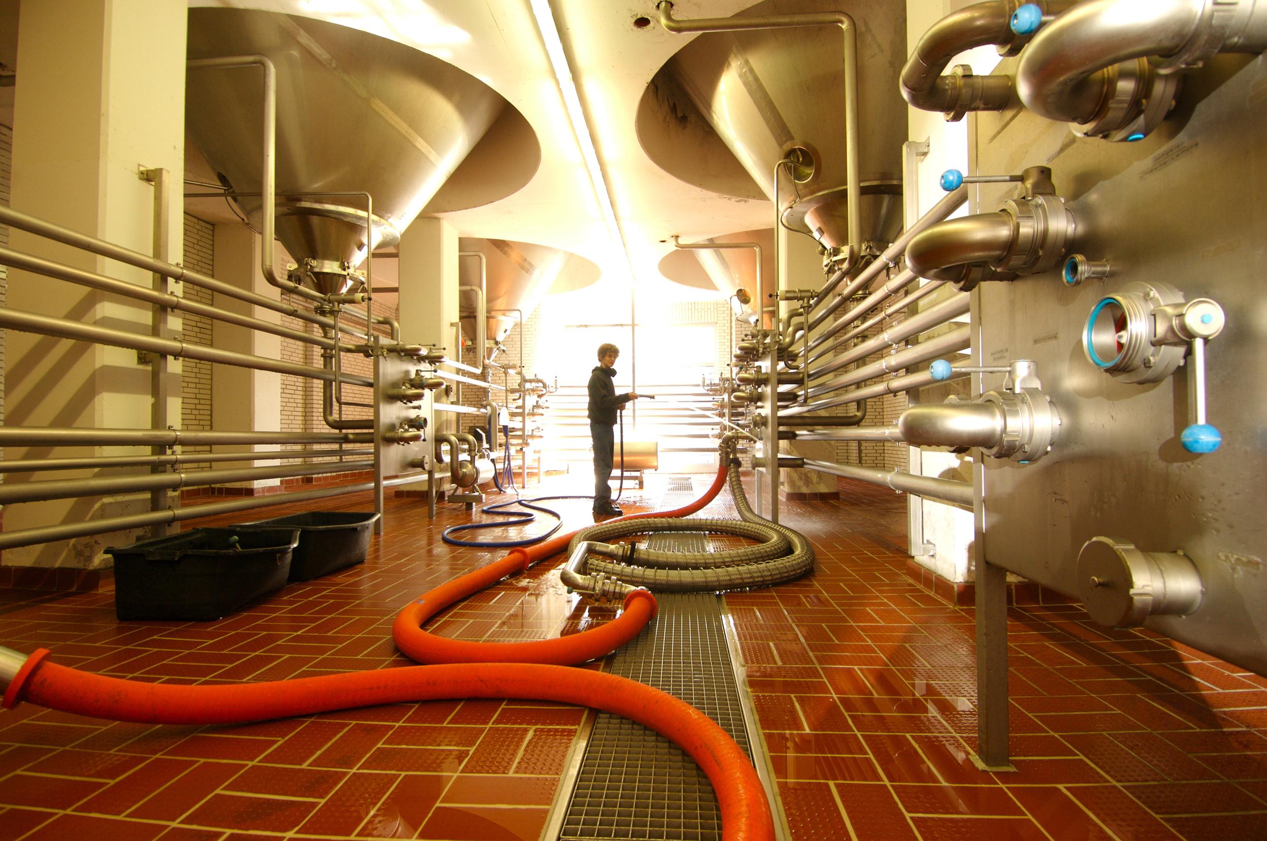 Brauerei Wittingen - Abfüllanlage