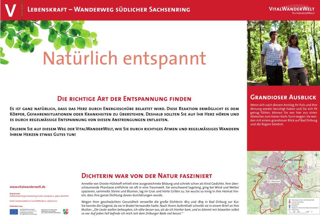 VitalWanderWelt Wanderweg südlicher Sachsenring - Natürlich entspannt