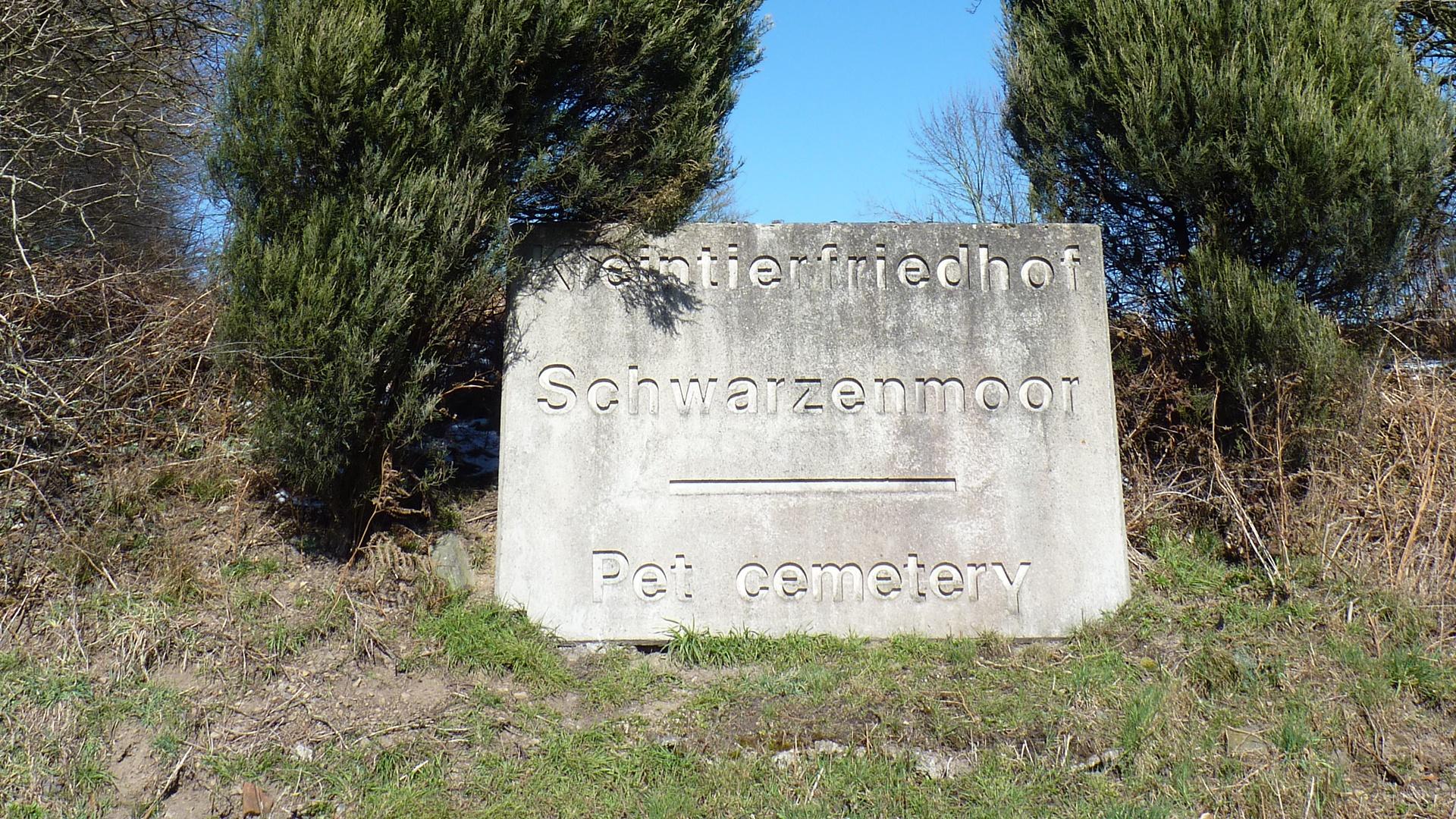 Der Tierfriedhof Schwarzenmoor