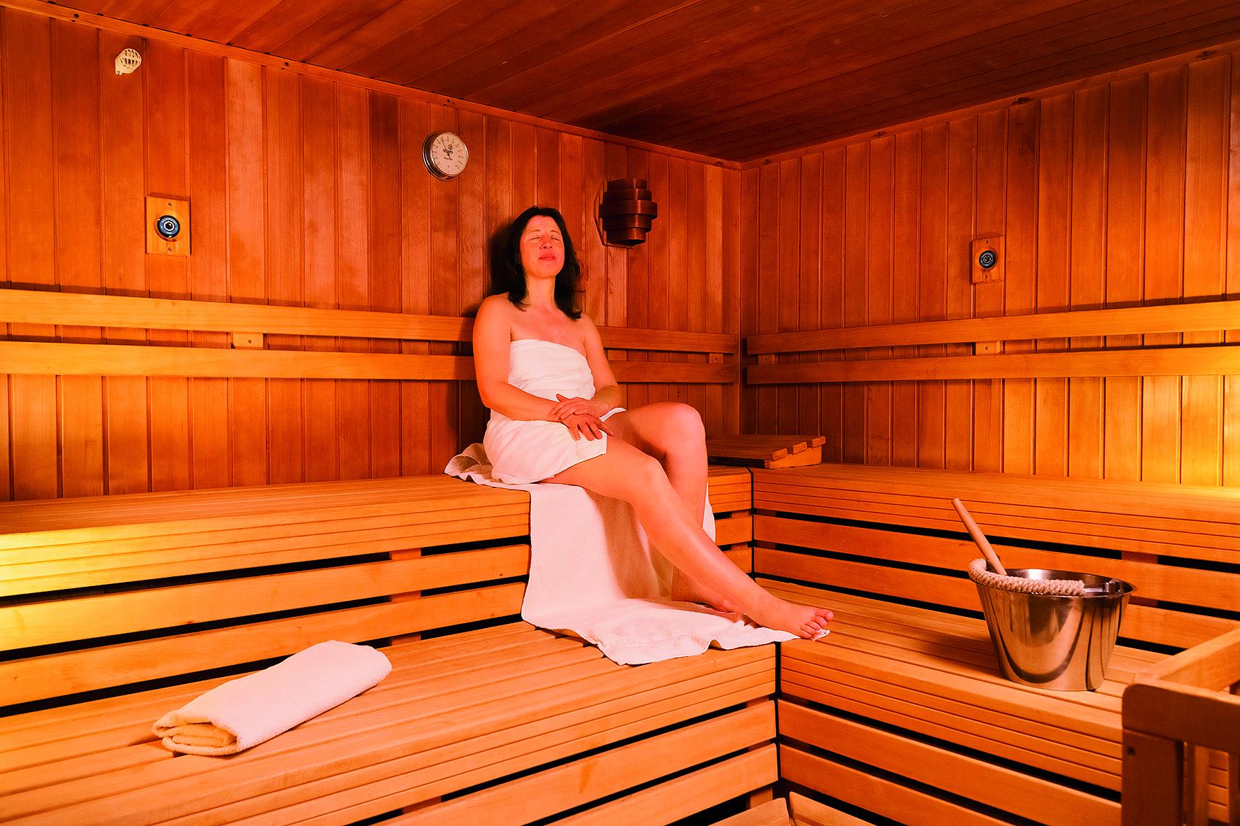 Vitalhotel am Stadtpark in Bad Harzburg - Sauna