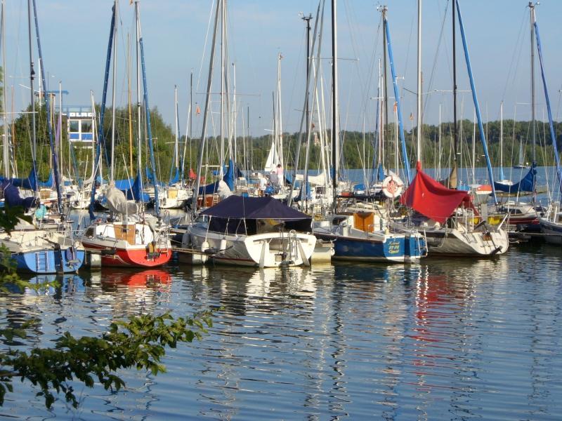 Segelboote auf dem Lippesee bei Paderborn-Sande