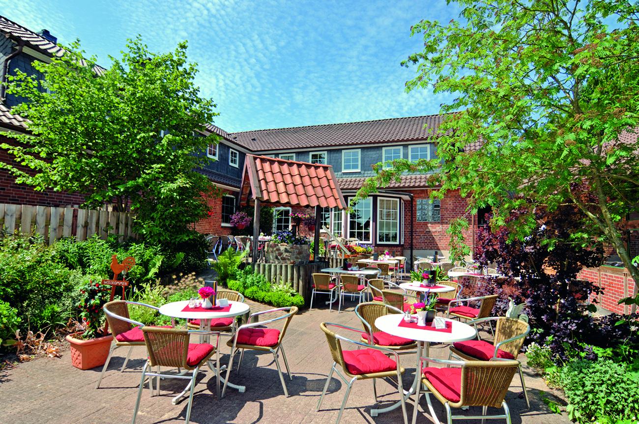 Heidecafé Bartels - Terrasse